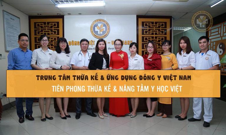 Phát triển đi lên từ Trung tâm Thừa kế và ứng dụng Đông y Việt Nam