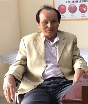 Ông Hồ Sỹ Nhiếp: Nguyên Giám đốc Trung tâm Môi trường - Bộ xây dựng