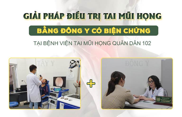Giải pháp Đông y có biện chứng kết hợp tây y và đông y