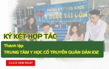 Quân Dân 102 ký kết với Phòng khám Đa khoa y dược Sài Gòn