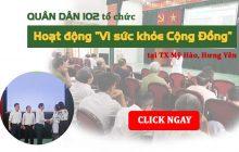 Hoạt động thiện nguyện tại Mỹ Hào, Hưng Yên